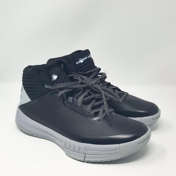 8078e0ebe1 Under Armour UA Lockdown 2 Basketball Shoes Black